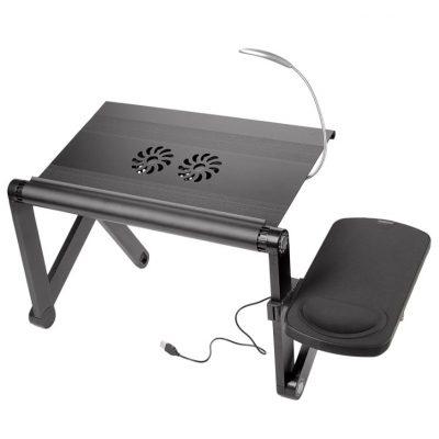 Столик для ноутбука Трансформер YOKO VIP black