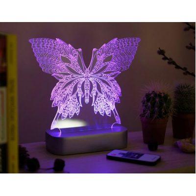 Светильник 3D-effect BATTERFLY