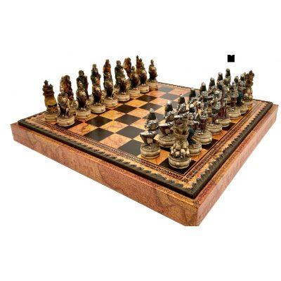 Шахматные фигуры ТРОЯНСКАЯ БИТВА (medium size)