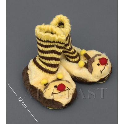 Тапочки-зверюшки ПЧЕЛКА детские