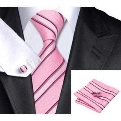 Мужской набор: галстук, запонки, платок ТЕДЕРИК