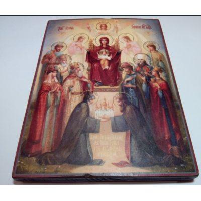 Икона похвала Божьей матери (Киевская)