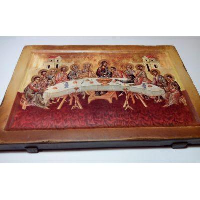Икона Святая Вечеря на ковчежной доске