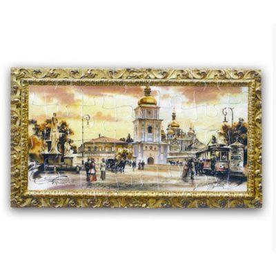 Магнитный Пазл МИХАЙЛОВСКИЙ СОБОР. Киев