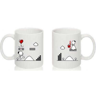 Парные чашки Ромео и Джульетта