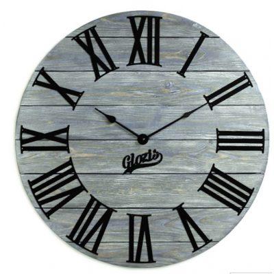 Настенные часы Деревянные KANSAS GRAPHITE