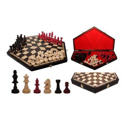 Шахматы НА ТРОИХ