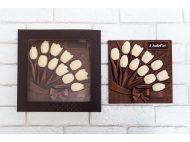 Шоколад прикольный Фигурный ТЮЛЬПАНЫ большие
