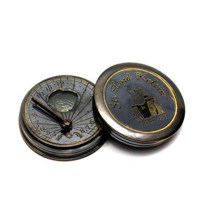 Солнечные часы с компасом ТУРИСТ