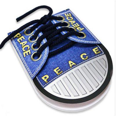 Блокнот-кеды PEACE