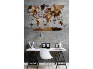 Карта Світу на стіну  МАРКО ПОЛО