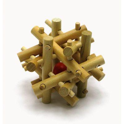 Головоломка деревянная №21