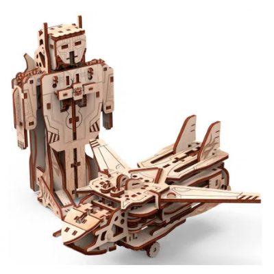 Механический 3D Пазл ВЕРТОЛЕТ