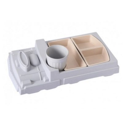 Детская посуда из Бамбука ПАРАВОЗИК
