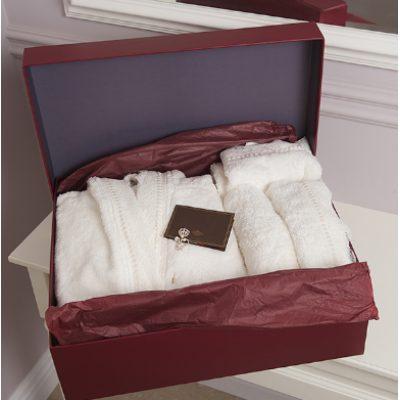 Комплект полотенец с халатом для Женщин ADELINE lux
