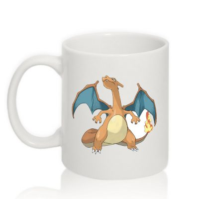 Коллекционная чашка Pokemon ЧАРИЗАРД