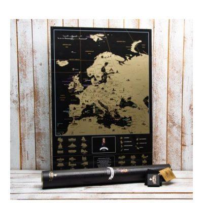 Скретч-карта Европы MY MAP EUROPE EDITION