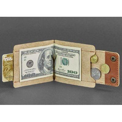 Зажим-кошелек для денег 10.0 КОНЬЯК