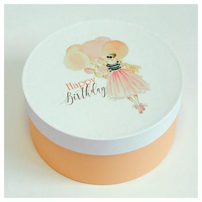 Подарочная коробка HAPPY BIRTHDAY woman