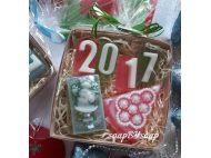 Мыло ручной работы в наборе как Новогодний подарок